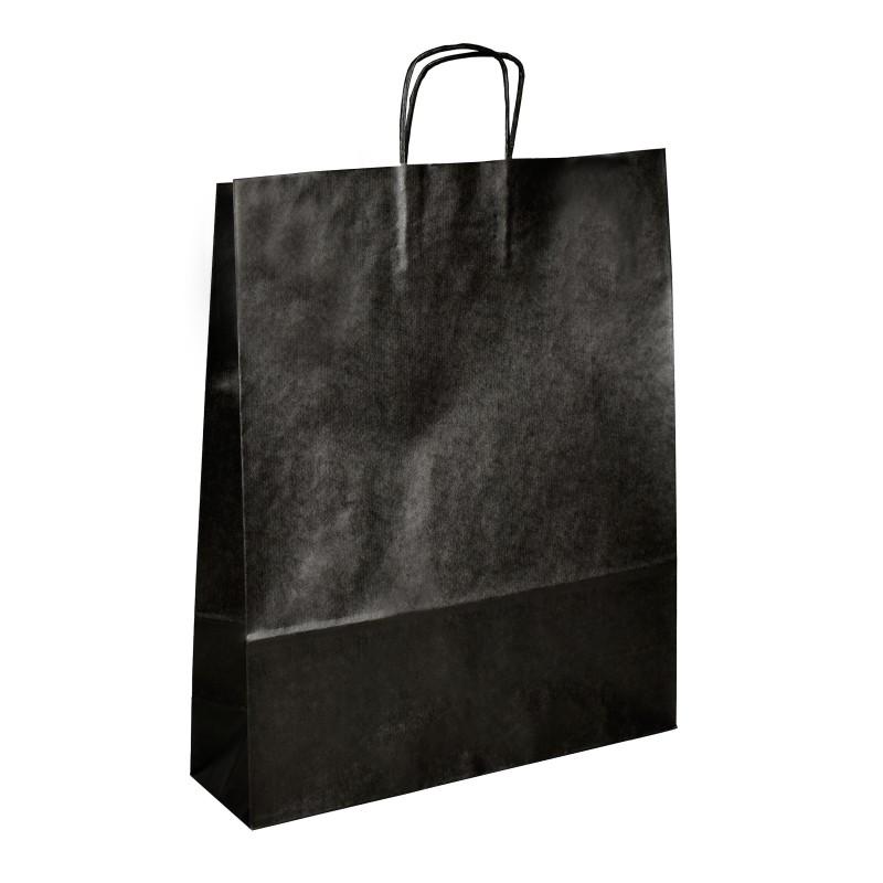 Papírová taška bílá ExtraTWIST 22x10x35