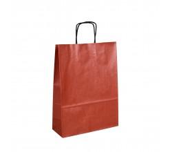 Papírová taška bílá ExtraTWIST 26x12x34