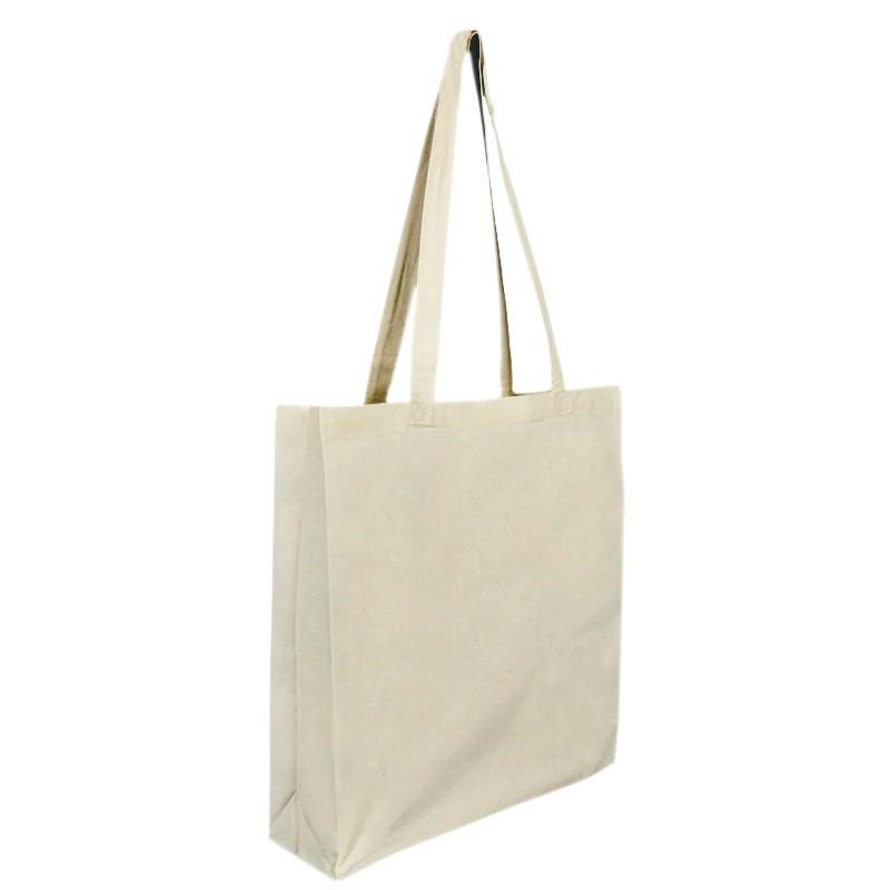 Bavlněná taška natural 180 gr - 38x10x42 cm