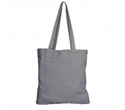 Bavlněná taška šedá 135 gr - 38x42 cm
