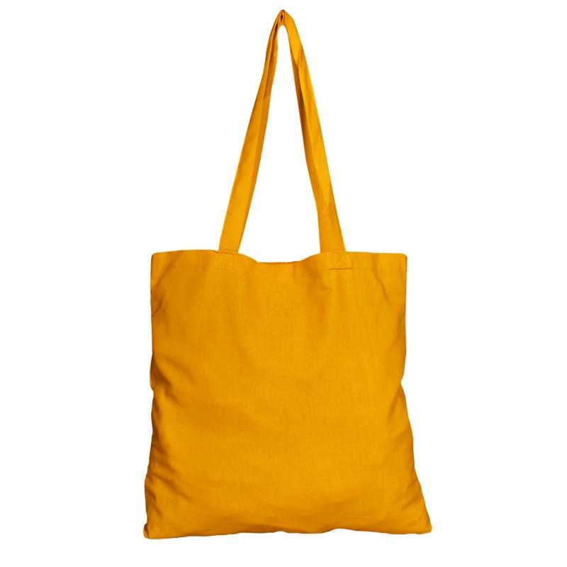 Bavlněná taška žlutá 135 gr - 38x42 cm
