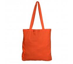 Bavlněná taška oranžová 135 gr - 38x42 cm