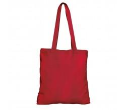 Bavlněná taška červená 135 gr - 38x42 cm