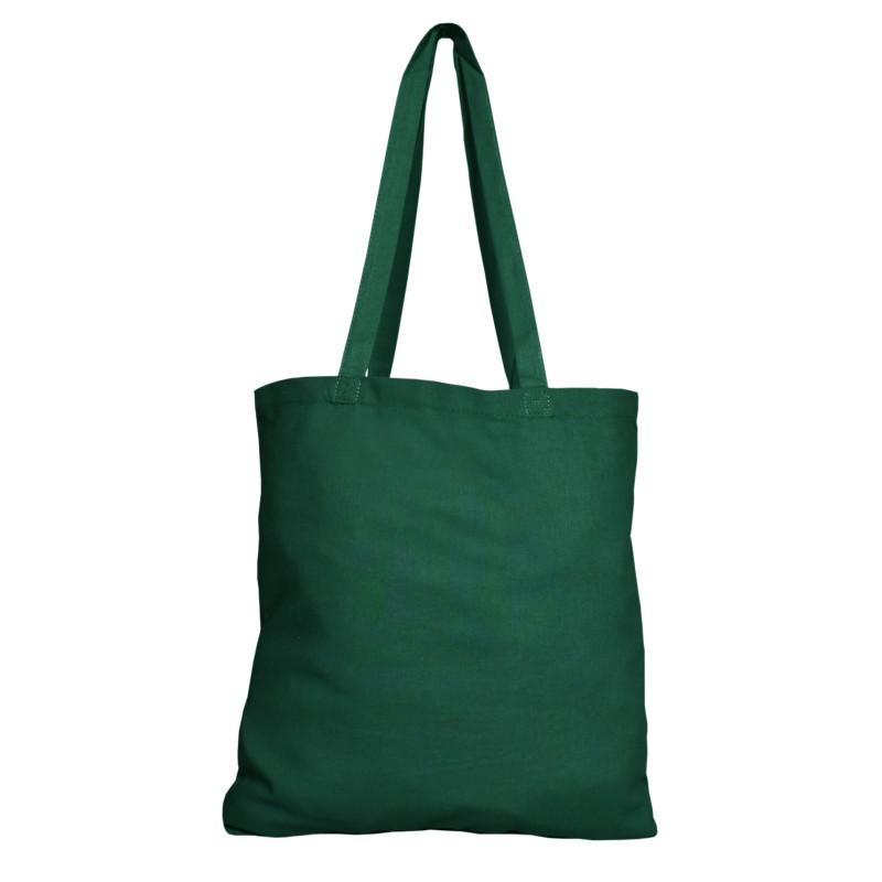 Bavlněná taška zelená 135 gr - 38x42 cm