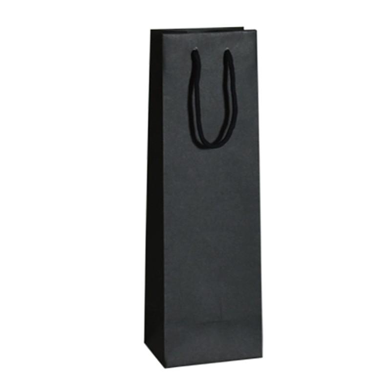 Taška na víno Livorno 12x10x41 černá