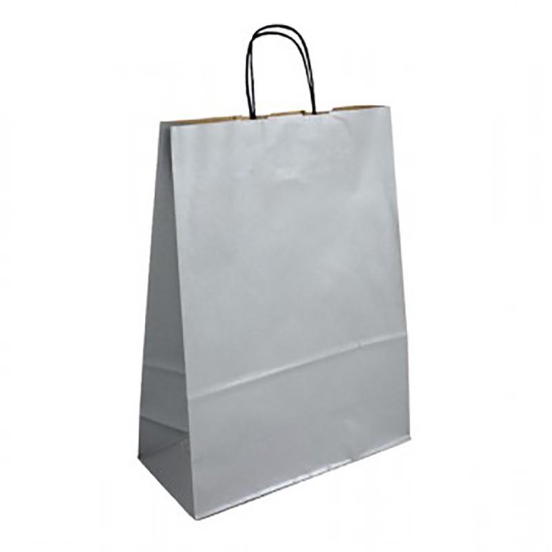 Stříbrná taška Totwist 32x14x42