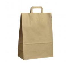 Papírová taška hnědá Topcraft 32x14x42
