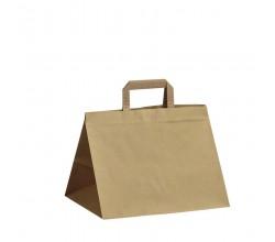 Papírová taška hnědá Takeaway 32x22x24
