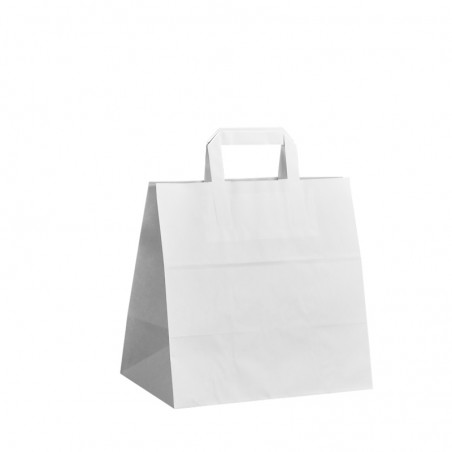 Taška s tiskem Topcraft hnědá 20x10x28