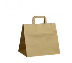Papírová taška hnědá Takeaway 32x20x28