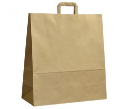 Papírová taška hnědá ExtraKRAFT 45x17x48