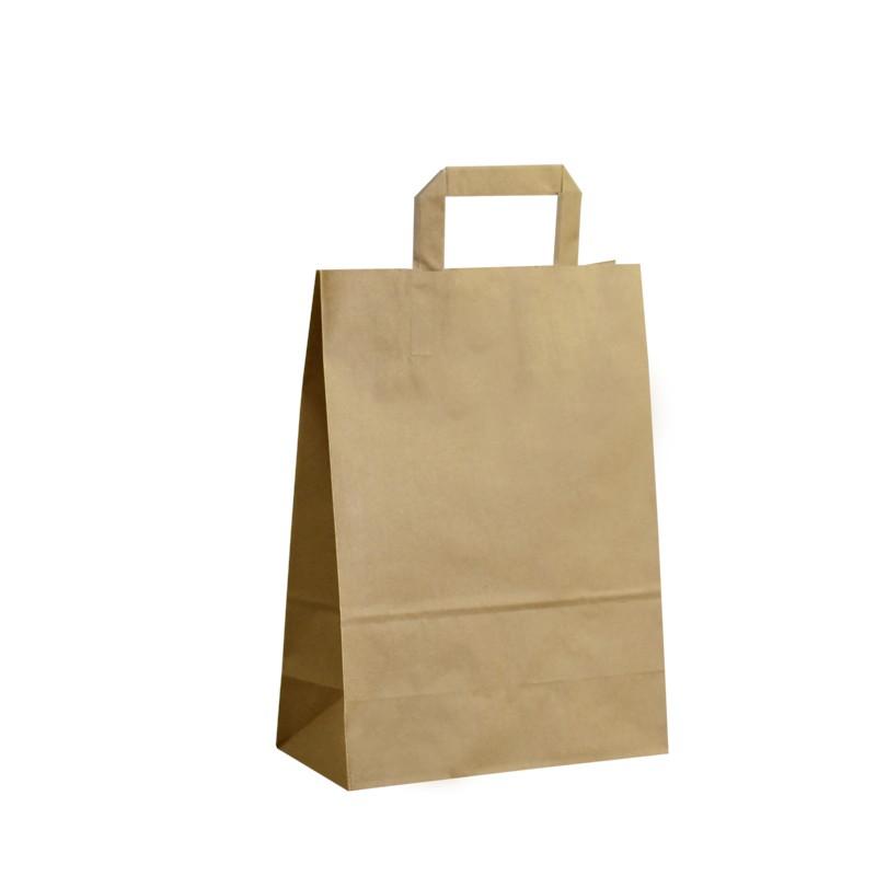Papírová taška hnědá ExtraKRAFT 24x11x33