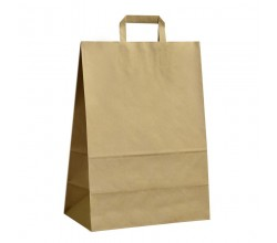 Papírová taška hnědá ExtraKRAFT 32x17x44