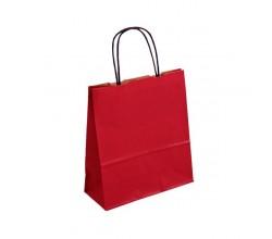 Červená taška Totwist 19x8x21