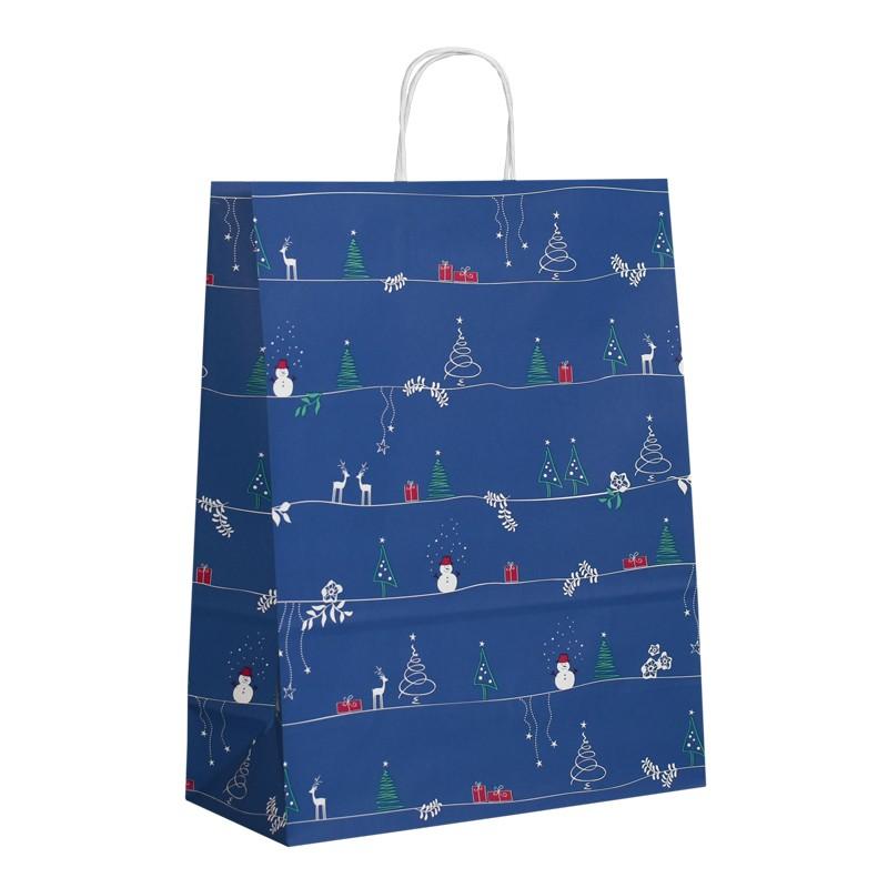 Vánoční taška Christmas Time 32x14x42