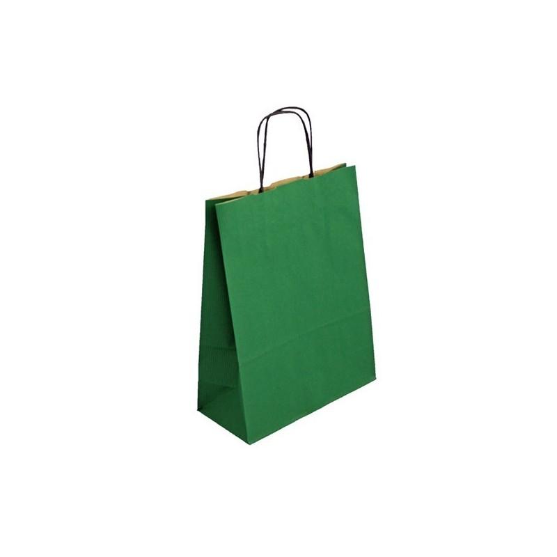 Zelená taška Totwist 24x11x31