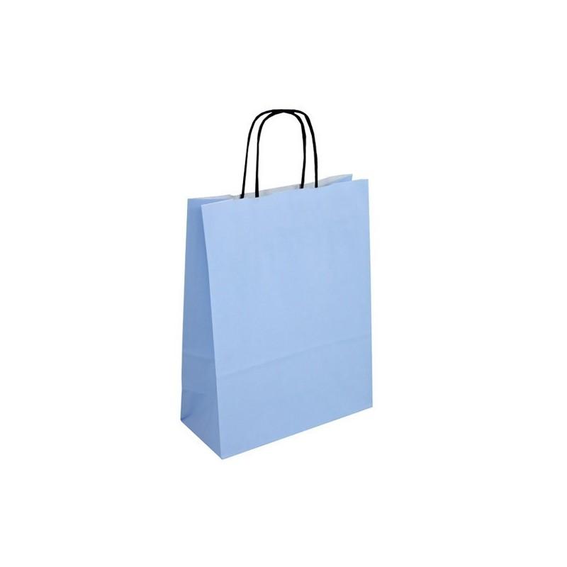 Světle modrá taška Totwist 24x11x31