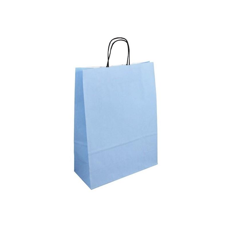 Světle modrá taška Totwist 32x14x42