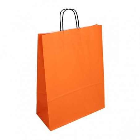 Papírová taška hnědá Topcraft 18x8x22