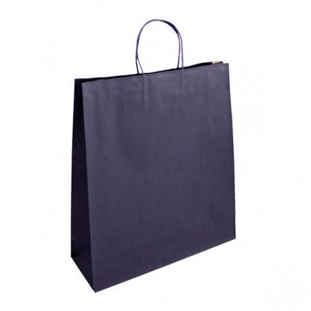 Papírová taška Topcraft hnědá - detail ucho
